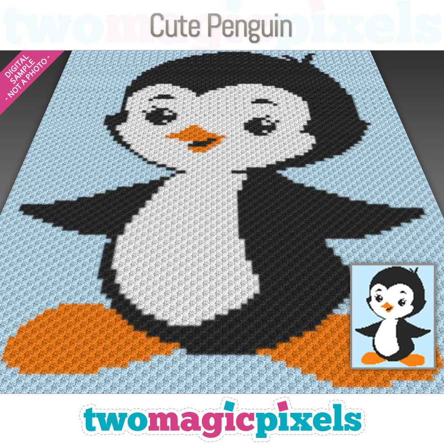 Cute Penguin by Two Magic Pixels