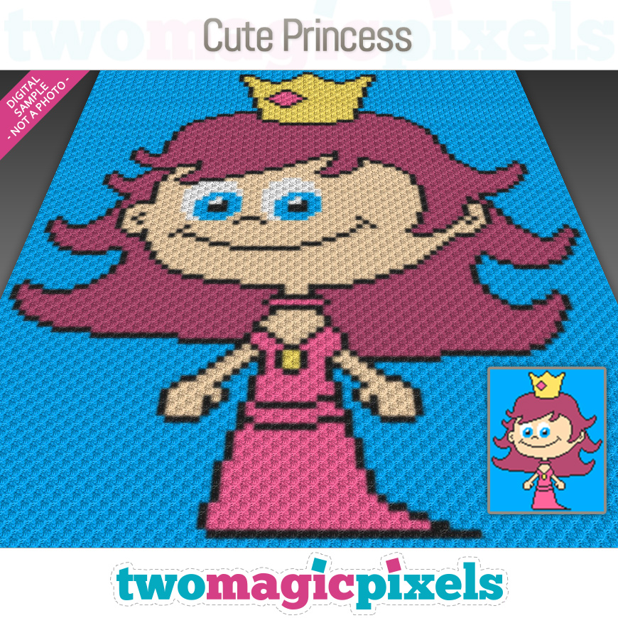 Cute Princess by Two Magic Pixels