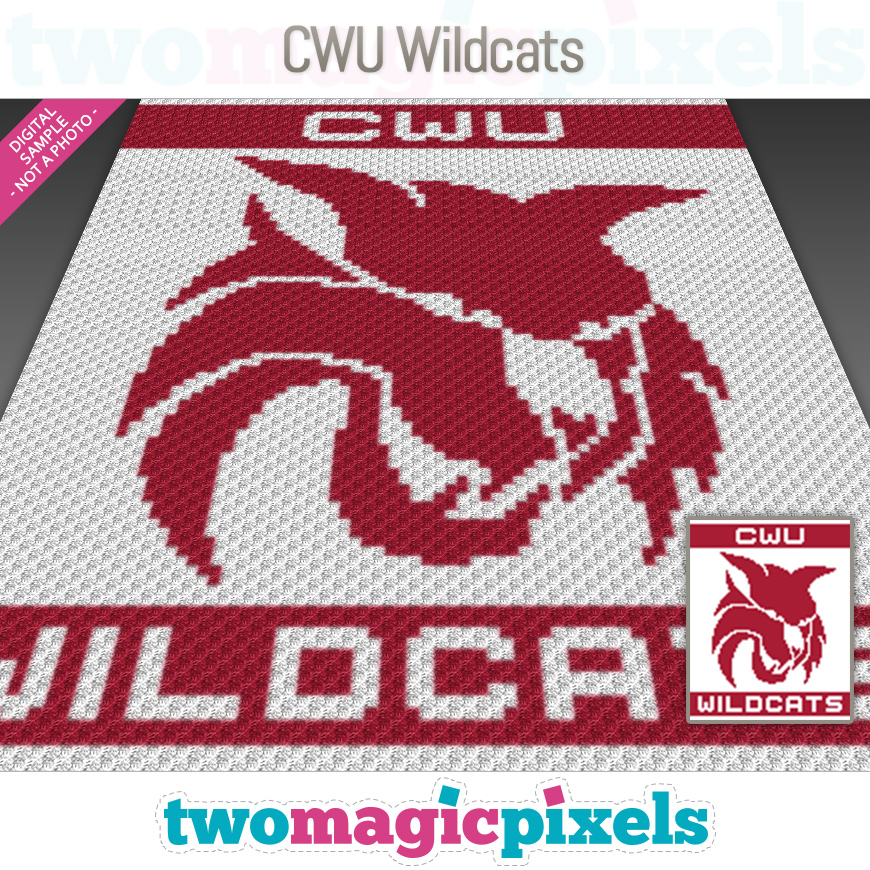 CWU Wildcats by Two Magic Pixels
