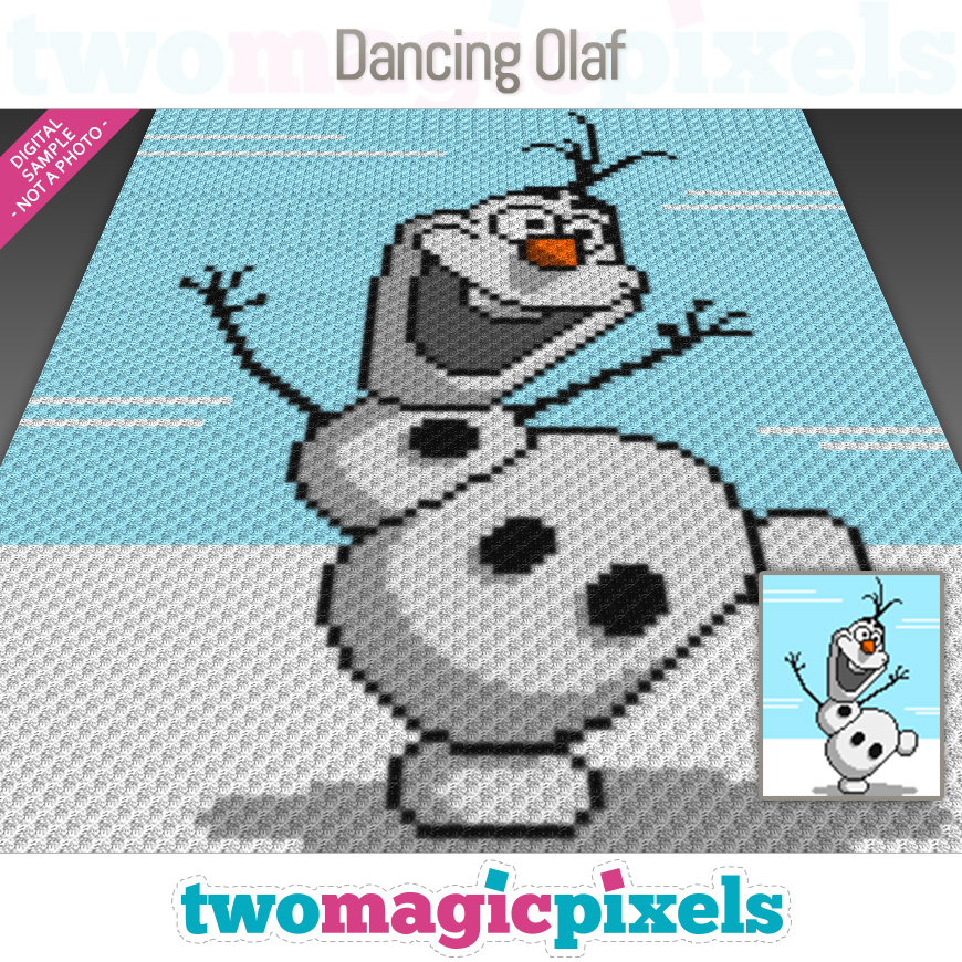 Dancing Olaf by Two Magic Pixels