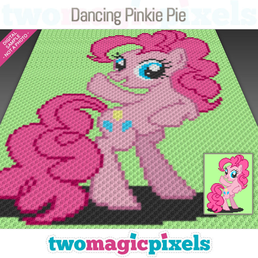 Dancing Pinkie Pie by Two Magic Pixels