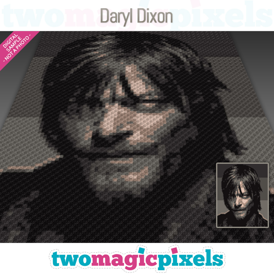 Daryl Dixon by Two Magic Pixels
