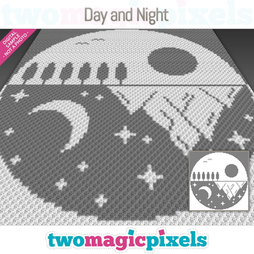 Day and Night by Two Magic Pixels