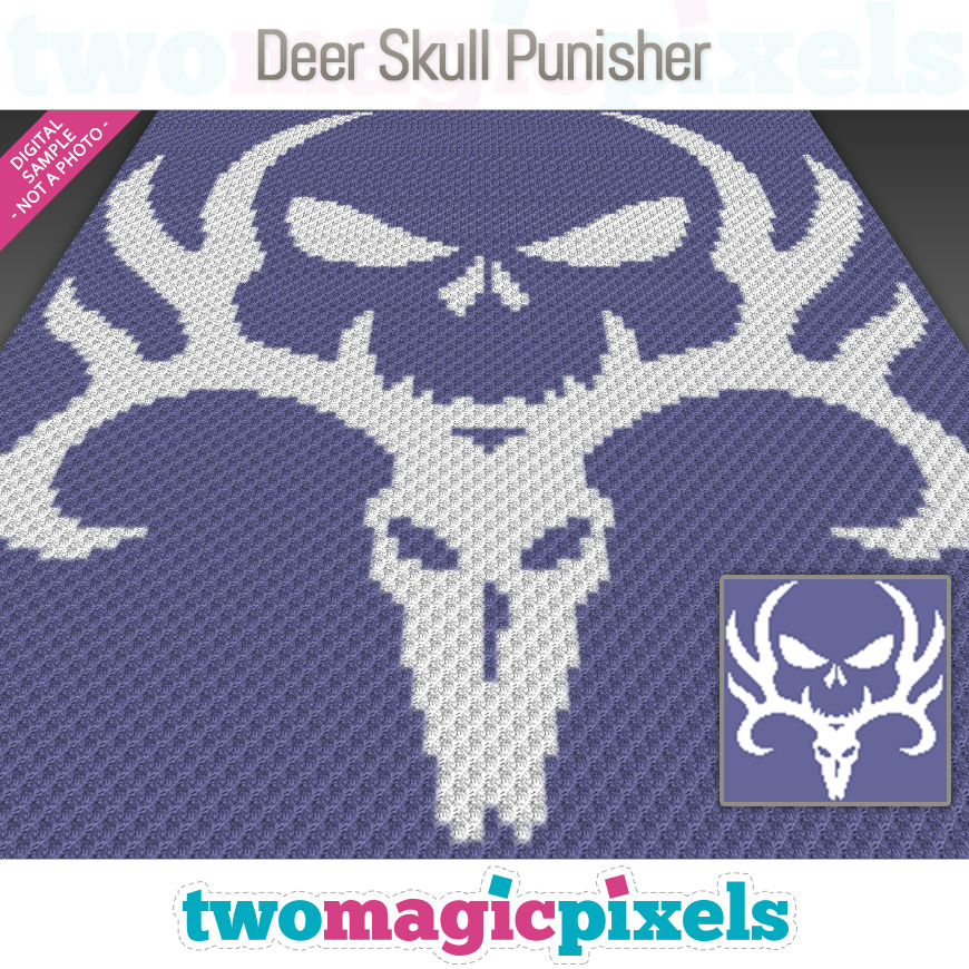 Deer Skull Punisher by Two Magic Pixels