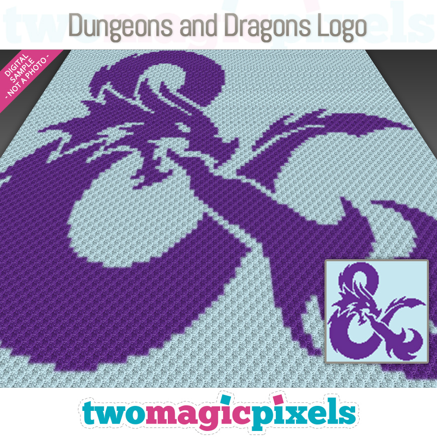 Dungeons And Dragons Logo by Two Magic Pixels