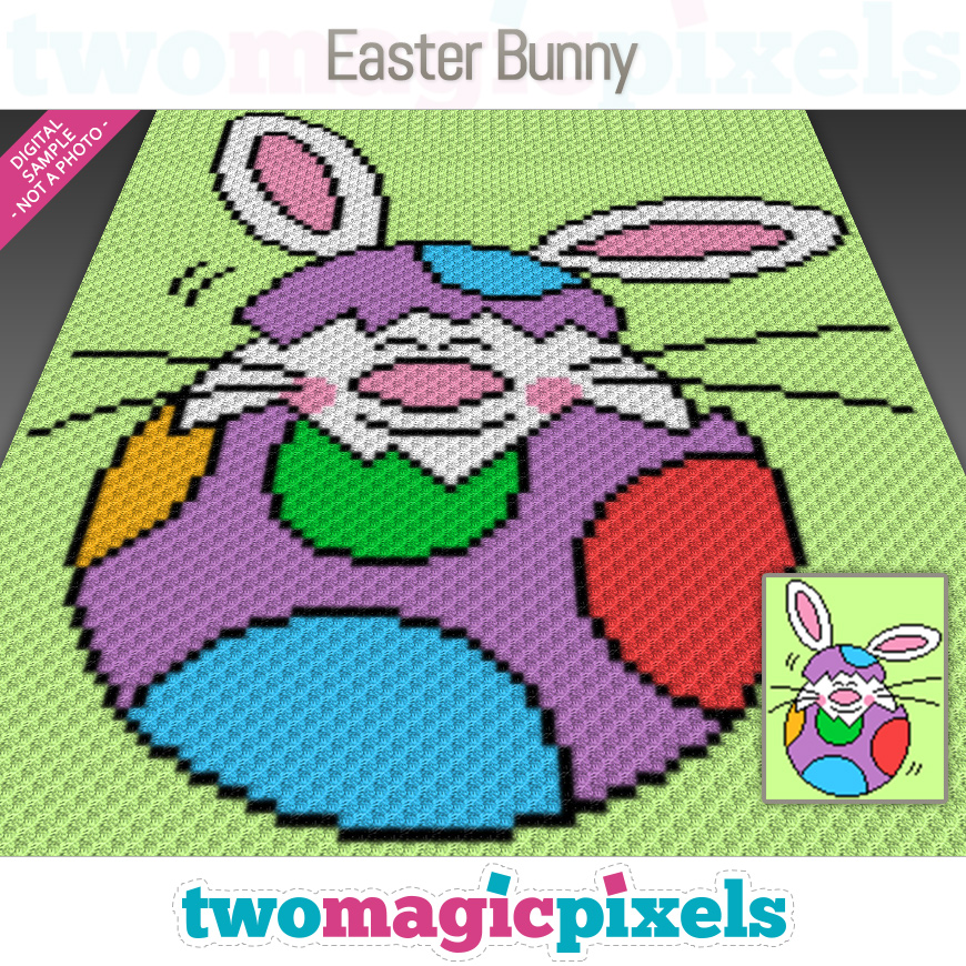Easter Bunny by Two Magic Pixels