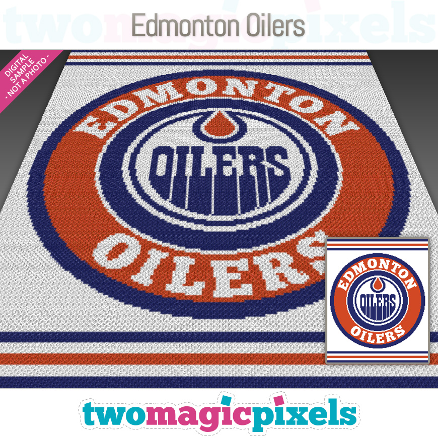 Edmonton Oilers by Two Magic Pixels