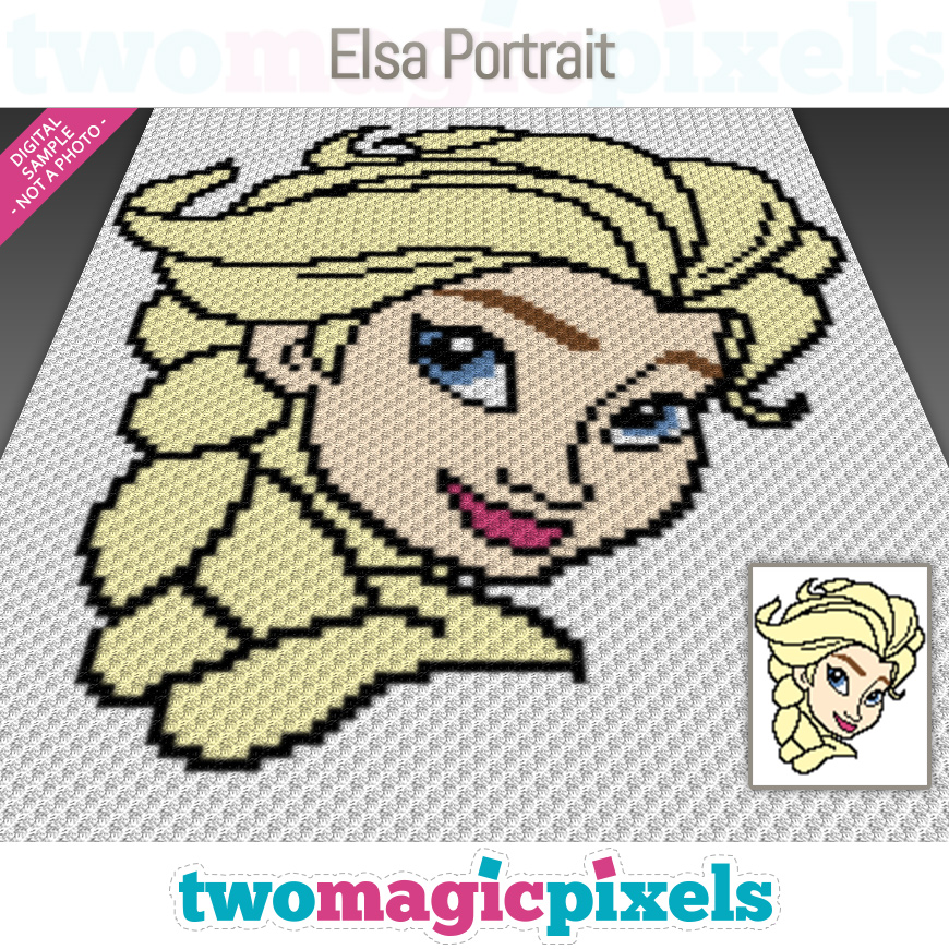 Elsa Portrait by Two Magic Pixels