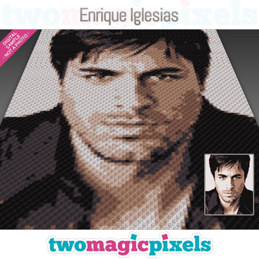 Enrique Iglesias by Two Magic Pixels