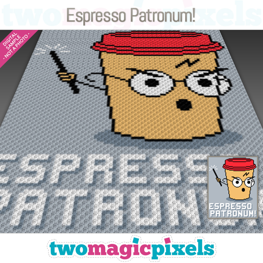Espresso Patronum! by Two Magic Pixels