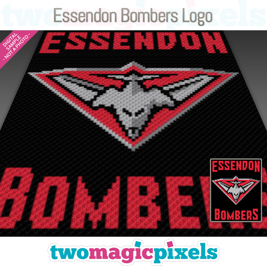 Essendon Bombers Logo by Two Magic Pixels