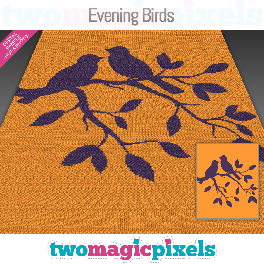 Evening Birds by Two Magic Pixels