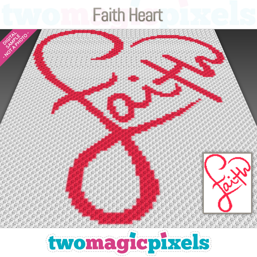 Faith Heart by Two Magic Pixels