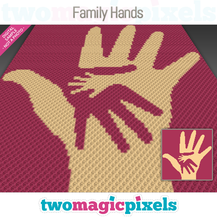 Family Hands by Two Magic Pixels