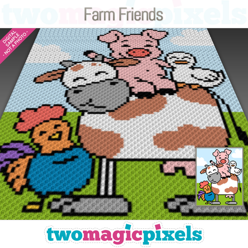 Farm Friends by Two Magic Pixels