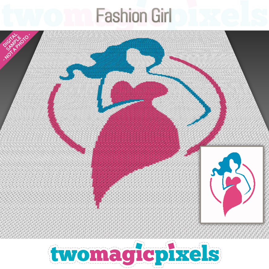 Fashion Girl by Two Magic Pixels