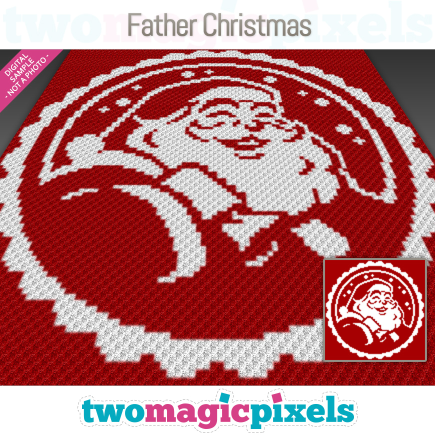 Father Christmas by Two Magic Pixels