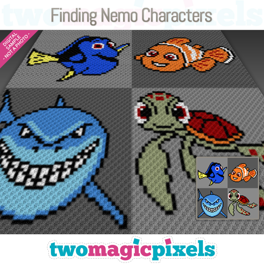 Finding Nemo Characters by Two Magic Pixels