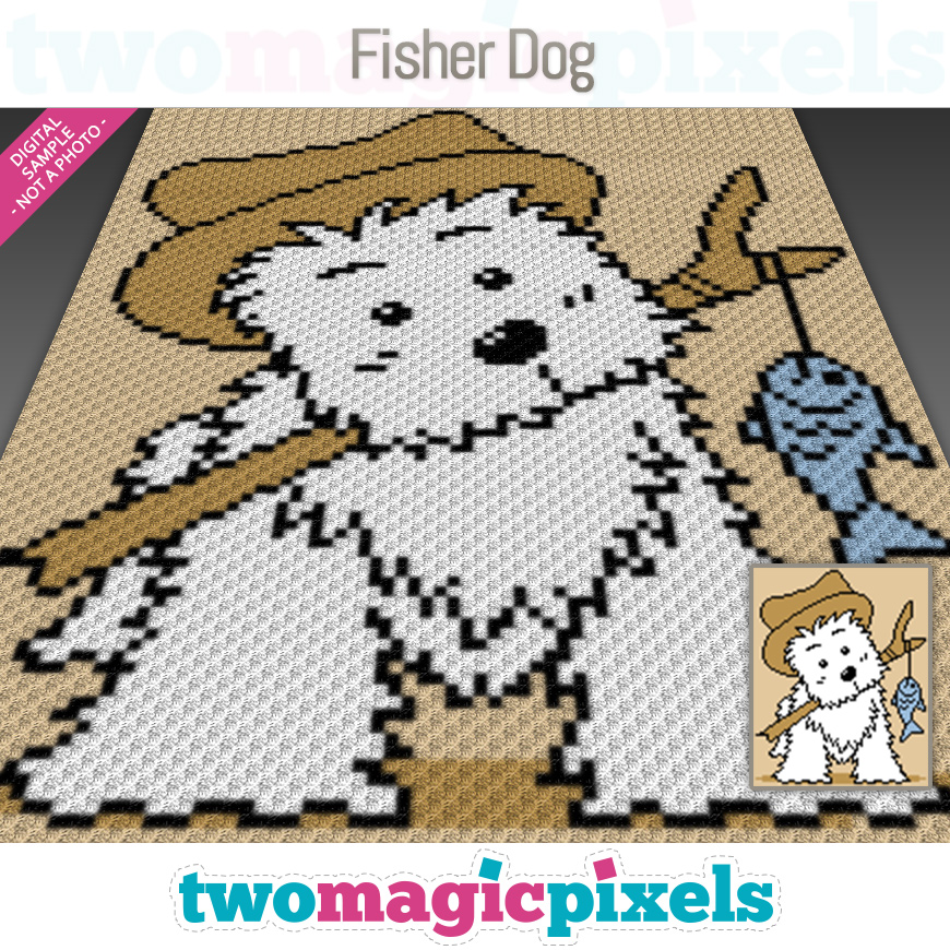 Fisher Dog by Two Magic Pixels