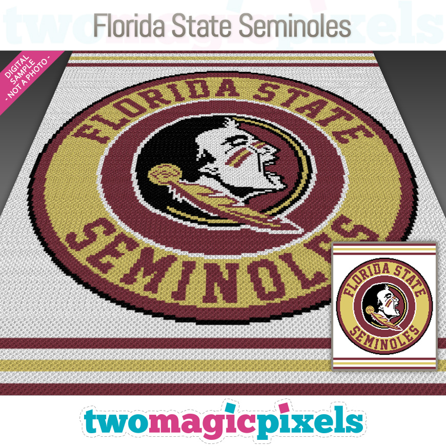 Florida State Seminoles by Two Magic Pixels