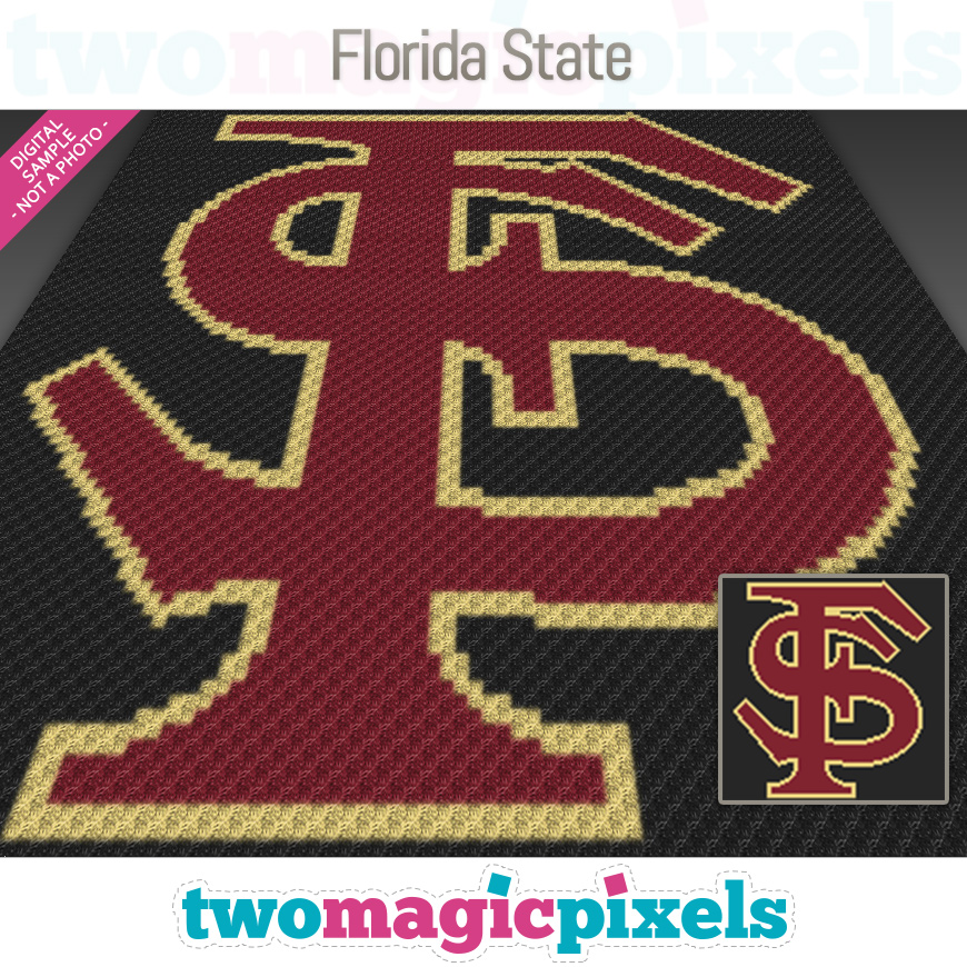 Florida State by Two Magic Pixels