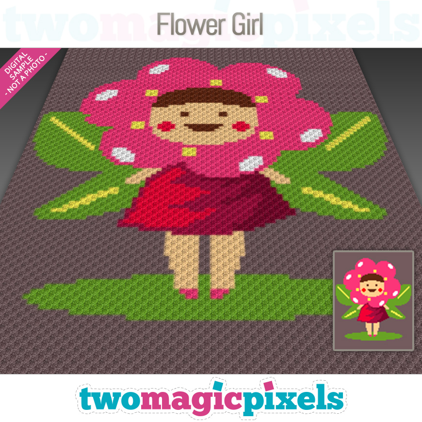 Flower Girl by Two Magic Pixels