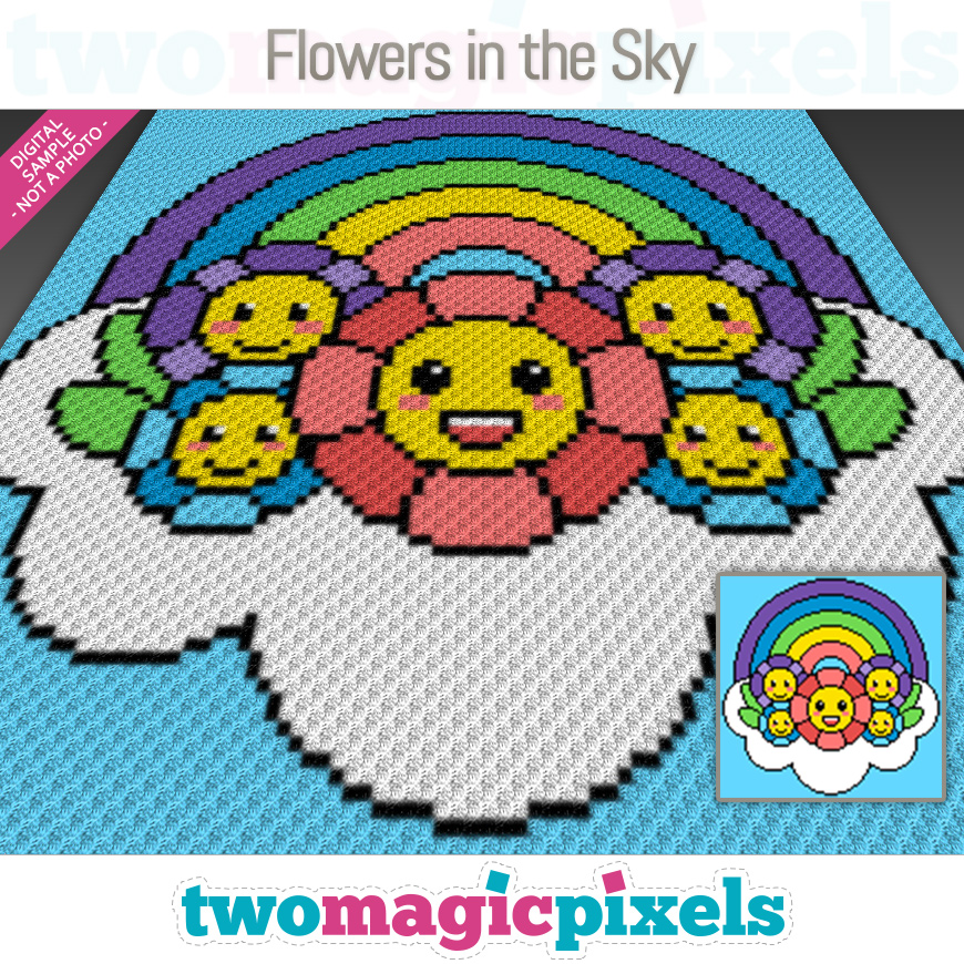 Flowers in the Sky by Two Magic Pixels