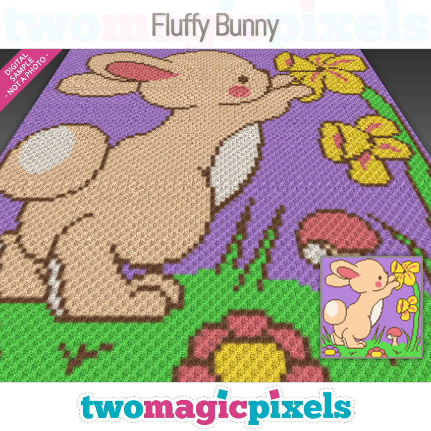 Fluffy Bunny by Two Magic Pixels