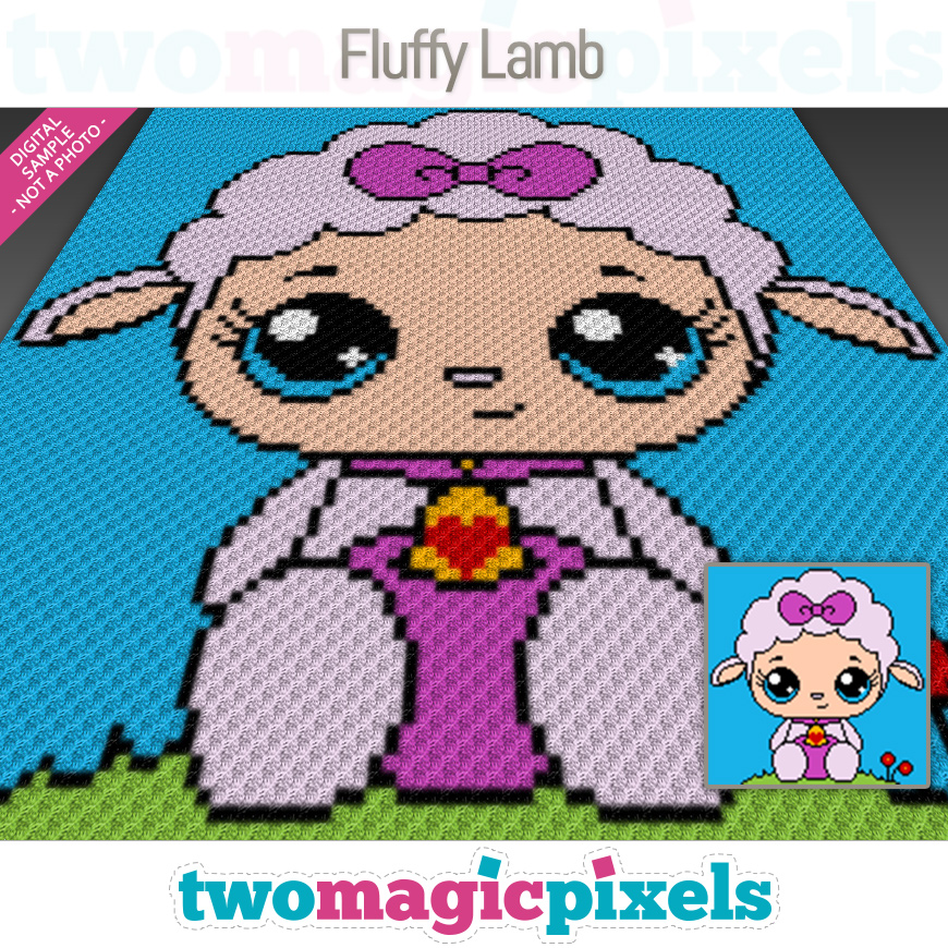 Fluffy Lamb by Two Magic Pixels