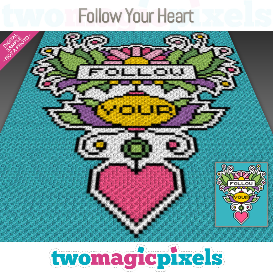 Follow Your Heart by Two Magic Pixels