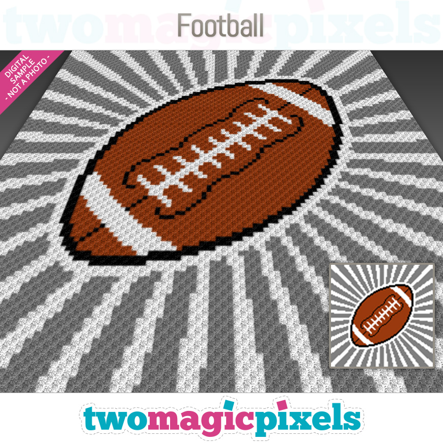 Football by Two Magic Pixels