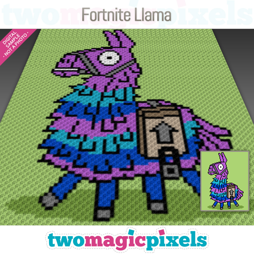 Fortnite Llama by Two Magic Pixels