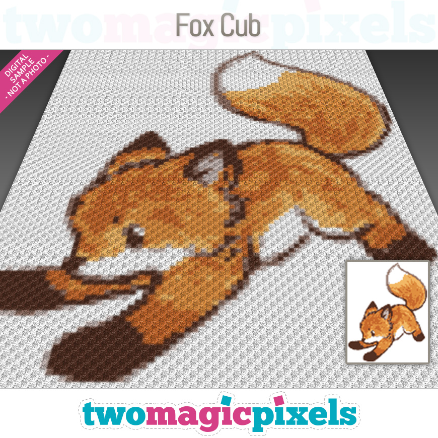 Fox Cub by Two Magic Pixels