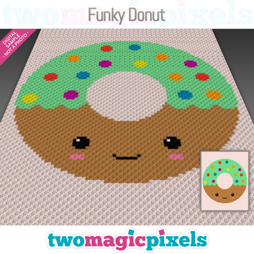Funky Donut by Two Magic Pixels
