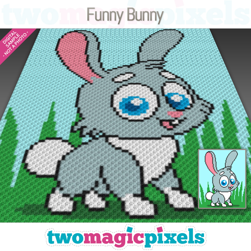 Funny Bunny by Two Magic Pixels
