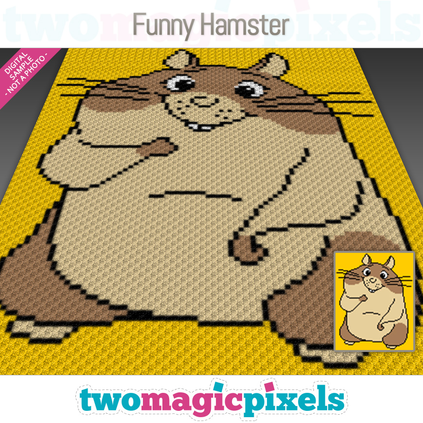 Funny Hamster by Two Magic Pixels