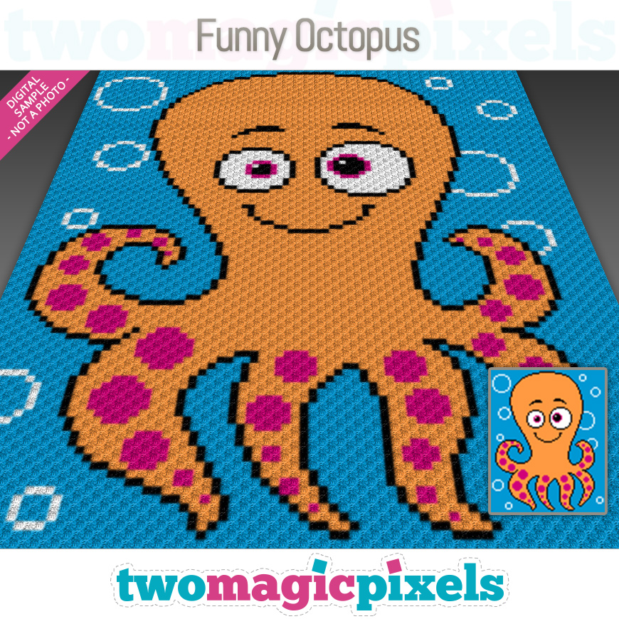Funny Octopus by Two Magic Pixels