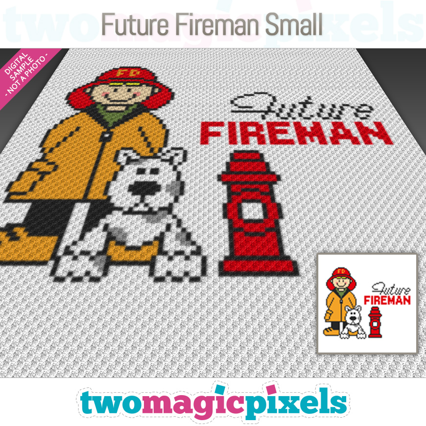 Future Fireman Small by Two Magic Pixels