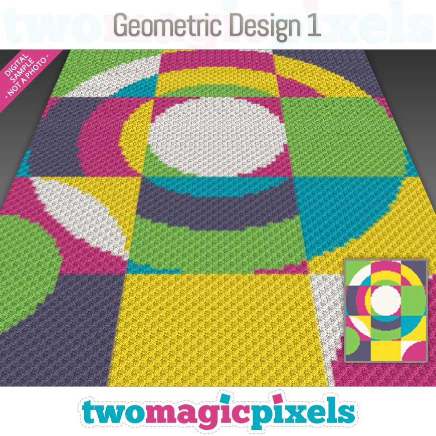 Geometric Design 1 by Two Magic Pixels