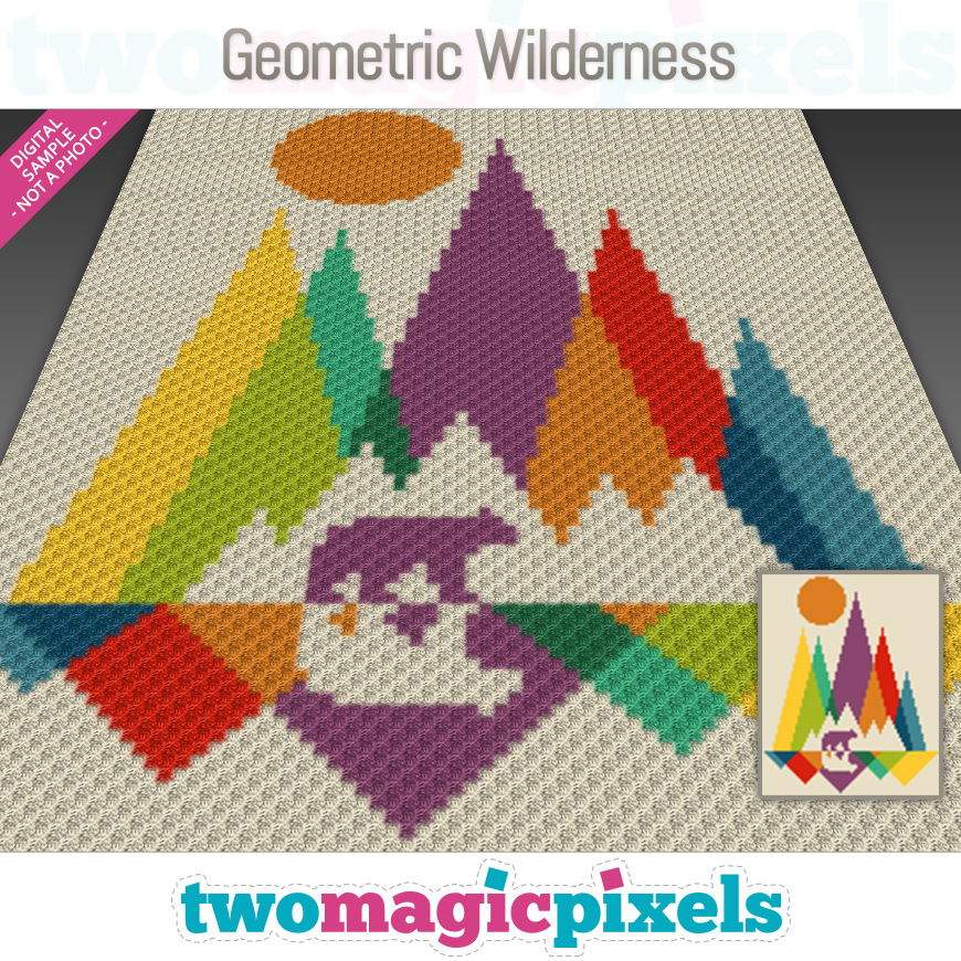 Geometric Wilderness by Two Magic Pixels