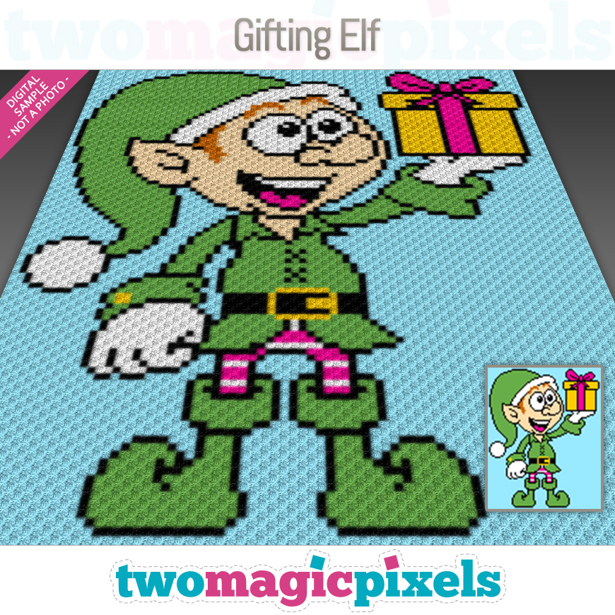Gifting Elf by Two Magic Pixels