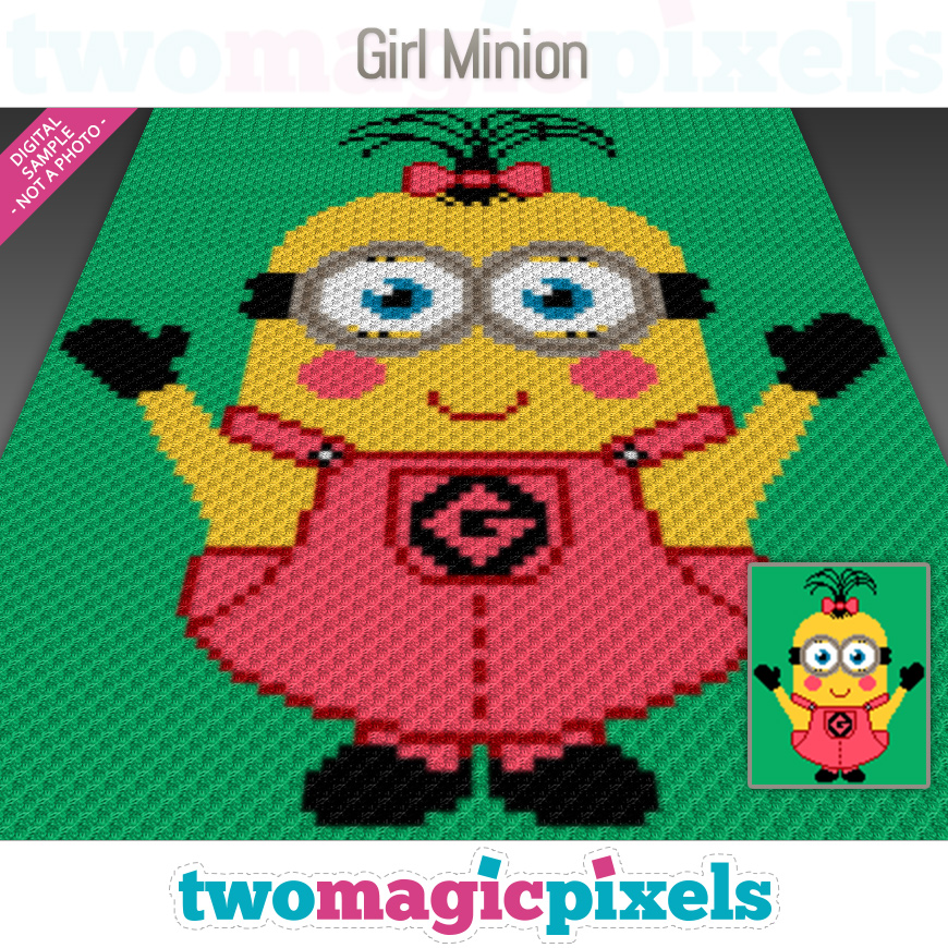 Girl Minion by Two Magic Pixels