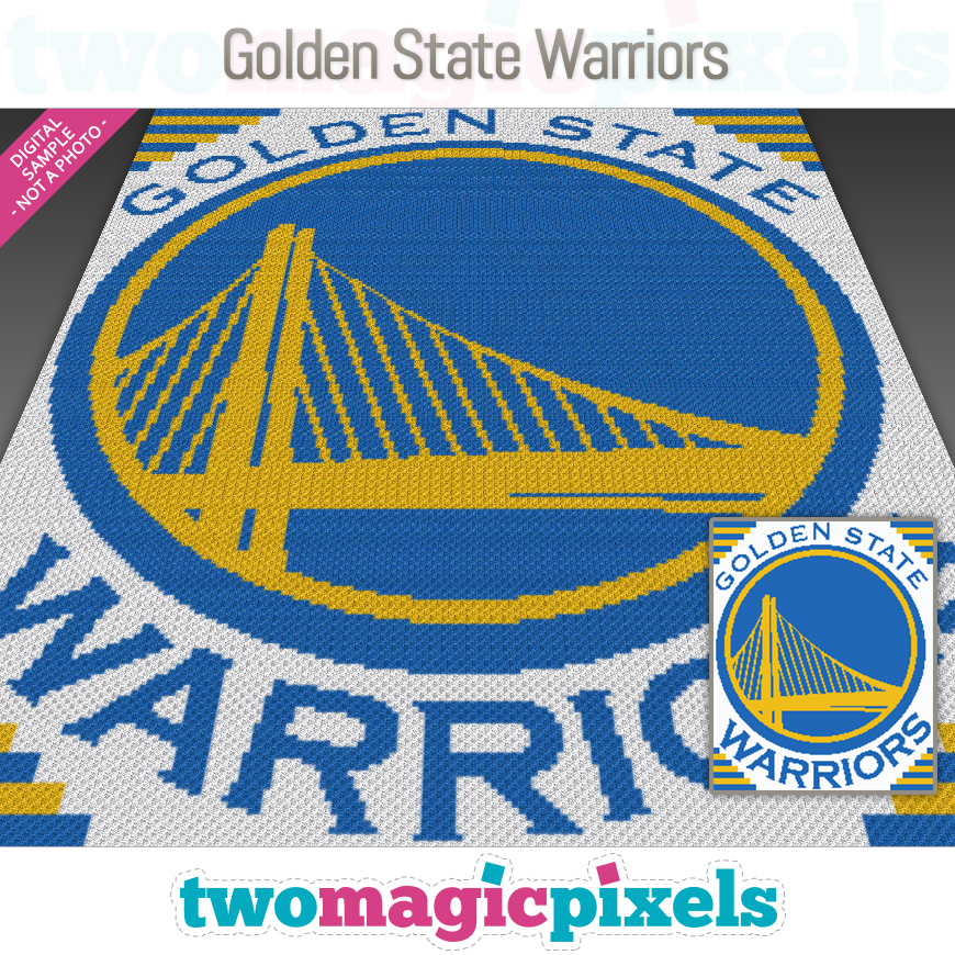 Golden State Warriors by Two Magic Pixels