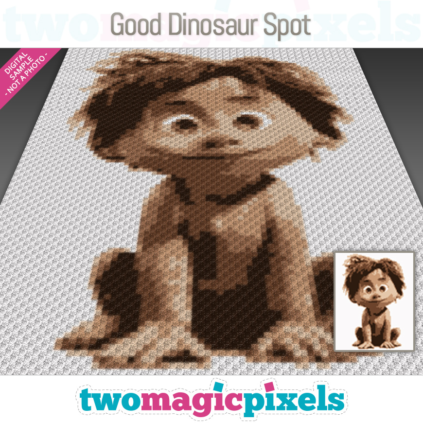 Good Dinosaur Spot by Two Magic Pixels