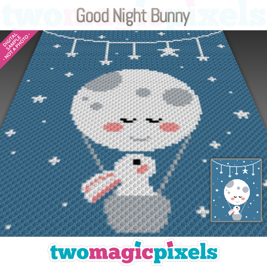 Good Night Bunny by Two Magic Pixels