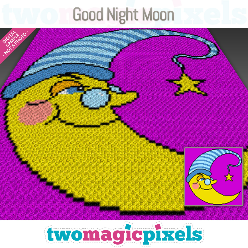 Good Night Moon by Two Magic Pixels