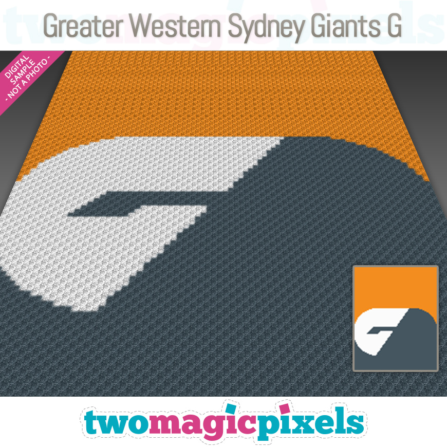 Greater Western Sydney Giants G by Two Magic Pixels