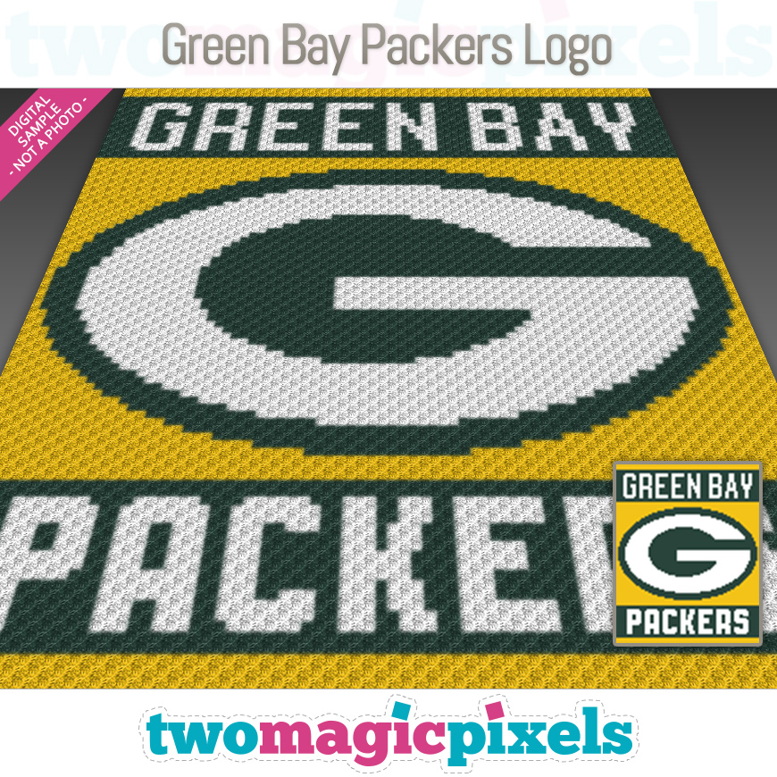 Green Bay Packers Logo by Two Magic Pixels