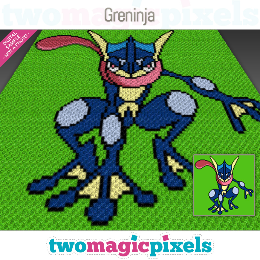 Greninja by Two Magic Pixels
