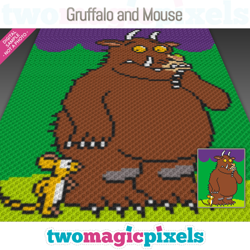 Gruffalo and Mouse by Two Magic Pixels